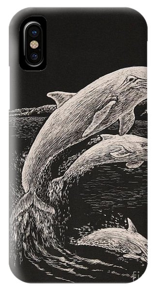Pacific Ocean Acrobats  IPhone Case
