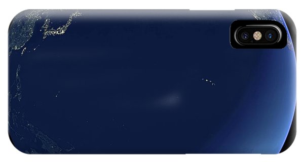 Pacific Ocean At Night Phone Case by Planetary Visions Ltd/science Photo Library