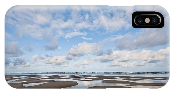 Pacific Ocean Beach At Low Tide IPhone Case