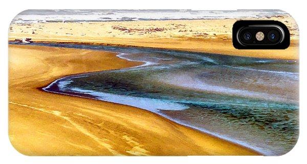 Pacific Ocean Beach Santa Barbara IPhone Case