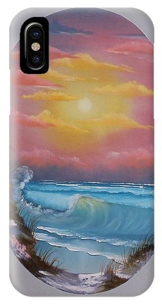 Pacific Ocean Sunset IPhone Case