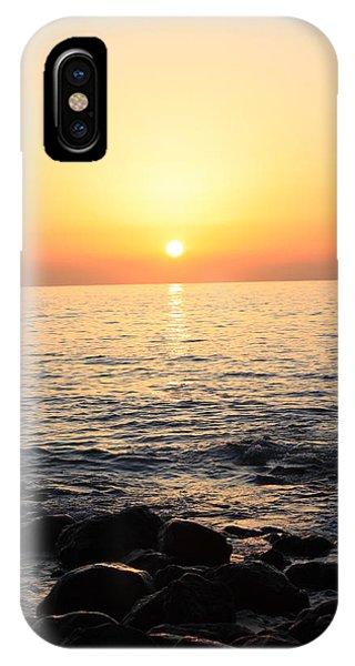 Pacific Sunrise Phone Case by Ashley Balkan