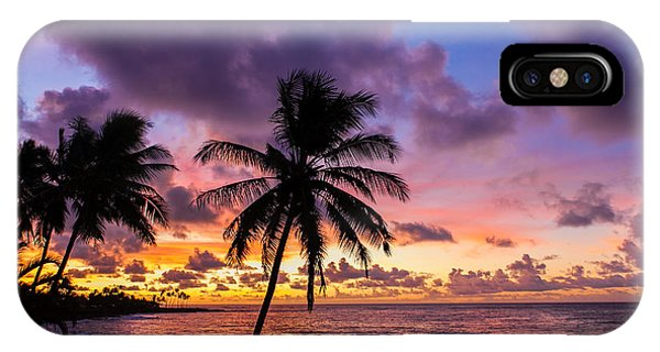 Greg Moore iPhone Case - Pacific Sunrise by Greg Moore
