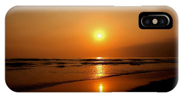 Pacific Sunset Reflection IPhone Case