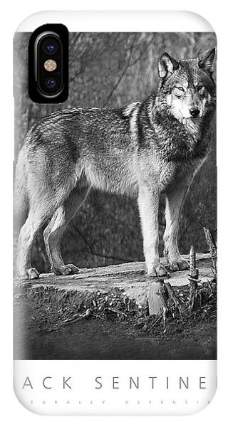 Pack Sentinel Naturally Defensive Poster IPhone Case