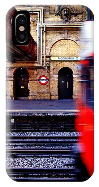 Paddington Station Tube IPhone Case