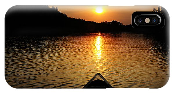Paddling Off Into The Sunset IPhone Case