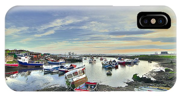 Paddy's Hole South Gare Teesside IPhone Case