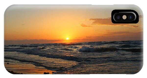 IPhone Case featuring the photograph Padre Sunrise by Candice Trimble