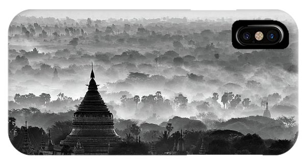 Layer iPhone Case - Pagoda by Hans-wolfgang Hawerkamp