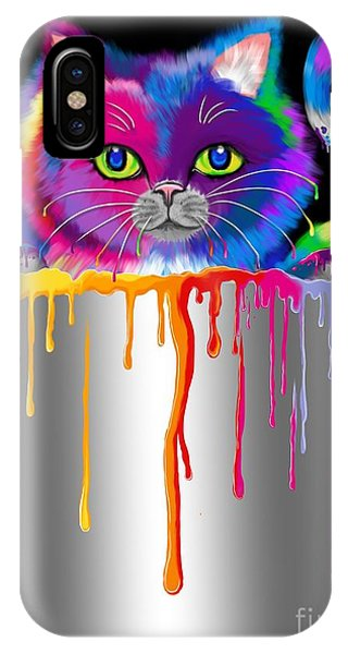 Paint Can Cat IPhone Case