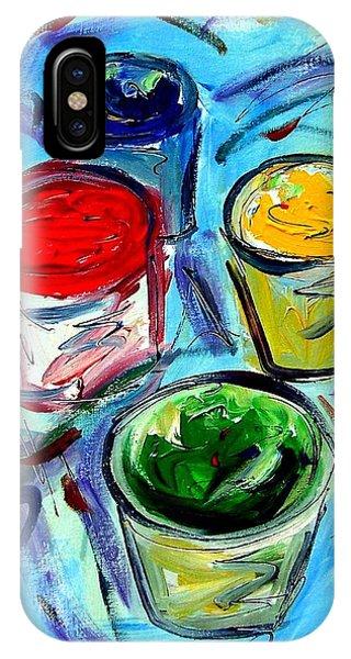 Paint Phone Case by Cynthia Hudson