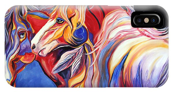 Paint Horse Colorful Spirits IPhone Case
