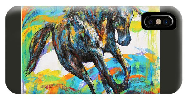 Paint Horse IPhone Case
