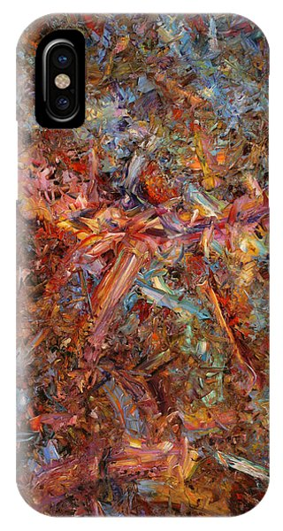 Abstract Expression iPhone Case - Paint Number 43 by James W Johnson