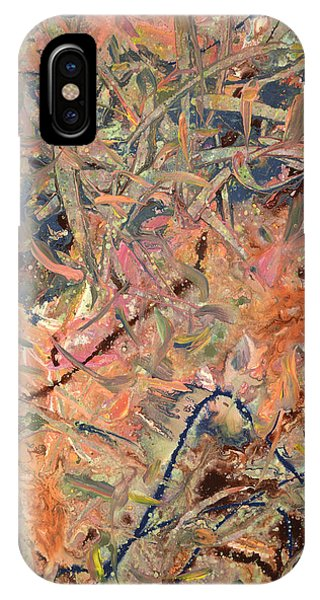 Contemporary Abstract iPhone Case - Paint Number 52 by James W Johnson