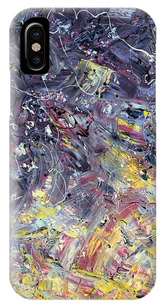 Abstract Expression iPhone Case - Paint Number 55 by James W Johnson