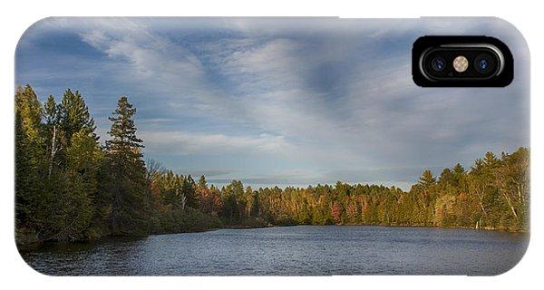 Paint River - Autumn IPhone Case