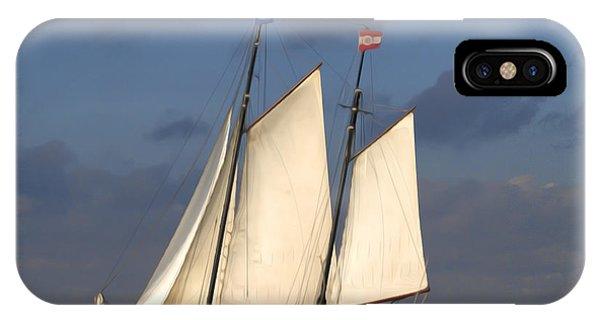 Paint Sail IPhone Case