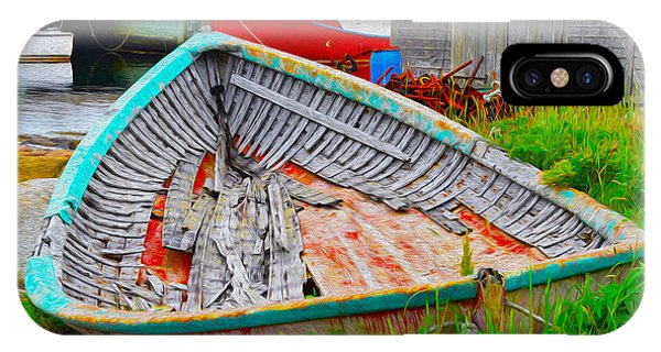 Painted Boats IPhone Case