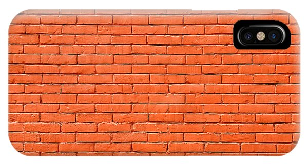 Painted Brick Wall IPhone Case