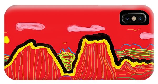 Painted Desert #2 IPhone Case