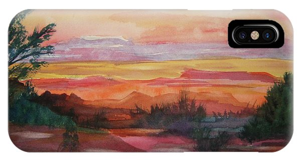 Painted Desert II IPhone Case