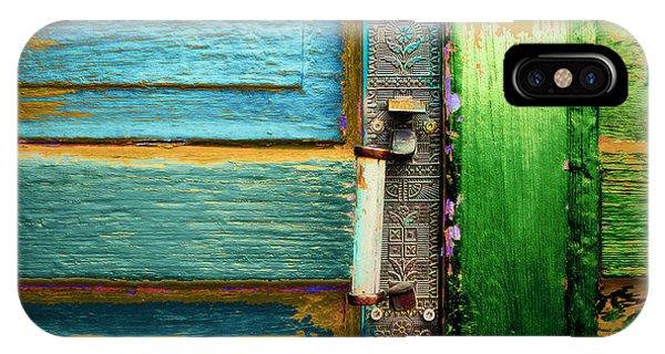 Painted Doors IPhone Case