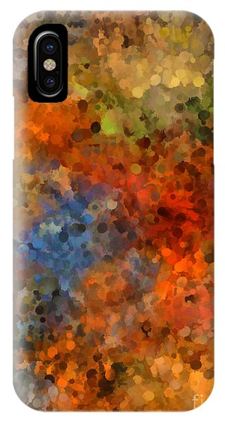 Painted Fall Abstract IPhone Case