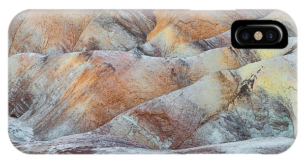 Death Valley iPhone Case - Painted Hills In Death Valley by Larry Marshall