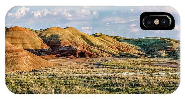Painted Hills Sunset Phone Case by Joe Hudspeth