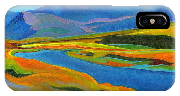 Painted Hills IPhone Case