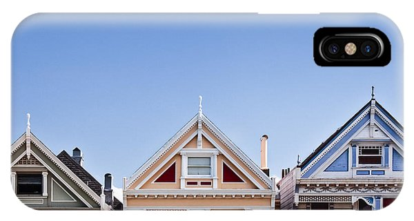 Blue iPhone Case - Painted Ladies by Dave Bowman