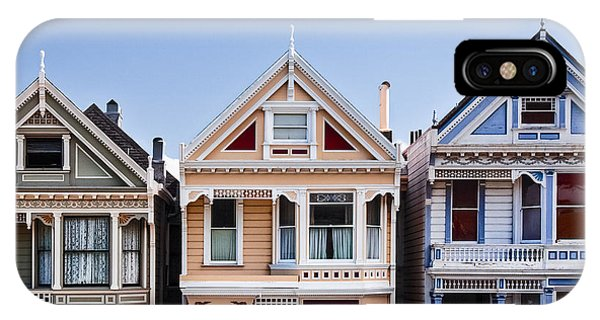 Blue Sky iPhone Case - Painted Ladies by Dave Bowman