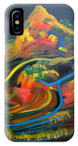 Painted Landscape IPhone Case