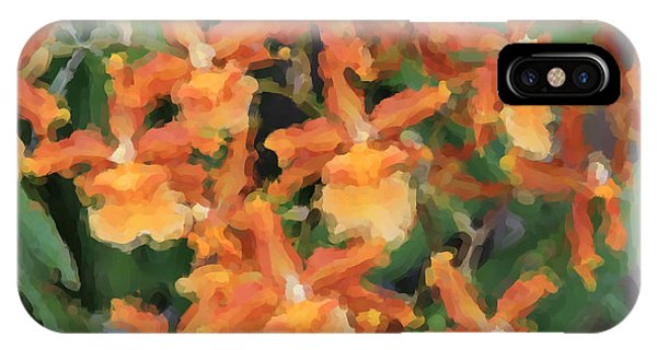 Painted Orchids IPhone Case