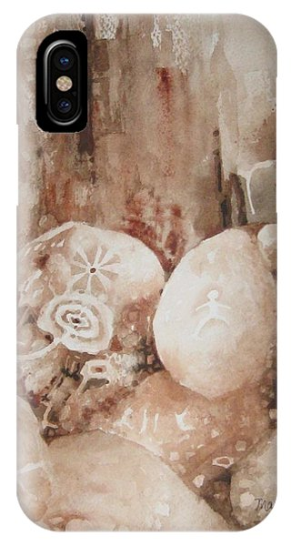 Painted Rocks Ll IPhone Case