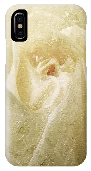 Painted Rose IPhone Case