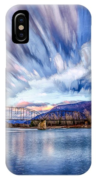 Painted Skies IPhone Case