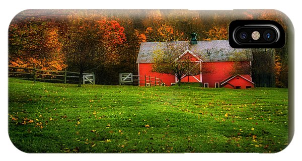 Autumn Dreams - Dorset Vermont IPhone Case