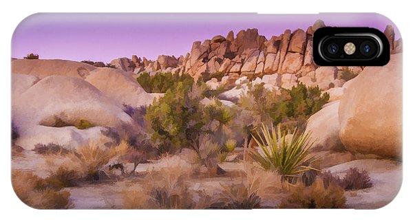 Painterly Desert IPhone Case