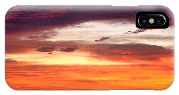 Painterly Sunrise On The Blue Ridge Parkway IPhone Case