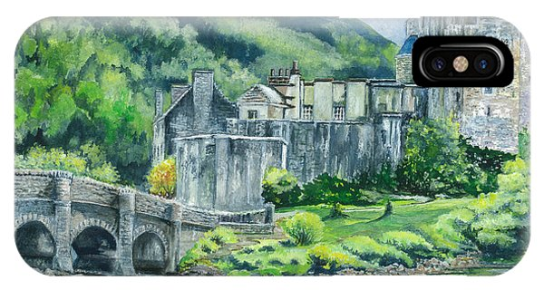 Eilean Donan Medieval Castle Scotland IPhone Case