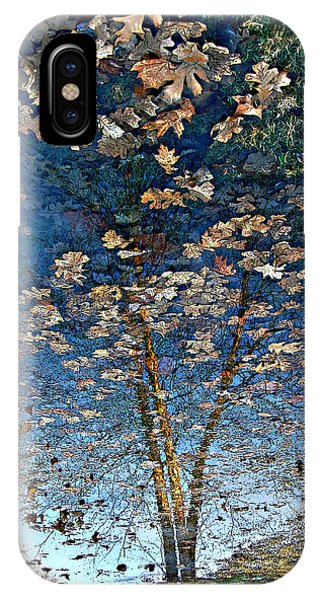 Painting In A Puddle IPhone Case