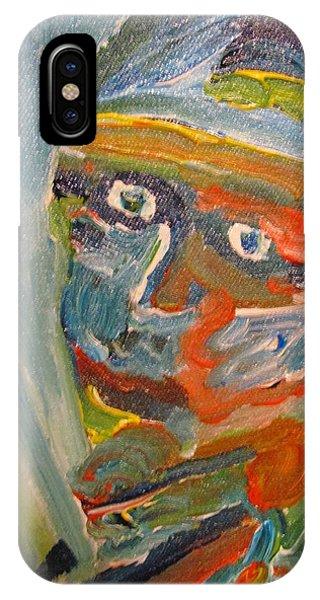 Painting Myself IPhone Case