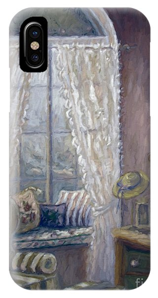 Painting Of A Child's Bedroom/ Digitally Altered IPhone Case