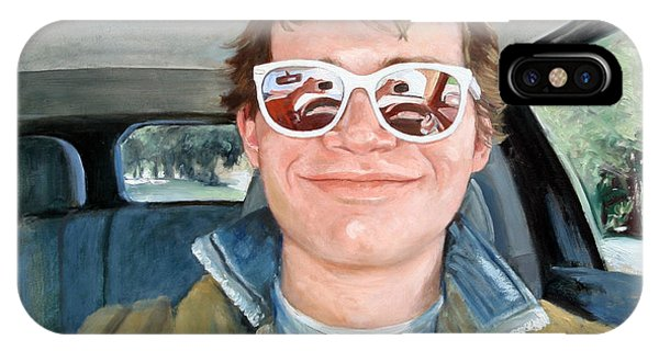 Painting Of Sam's Self Portrait IPhone Case