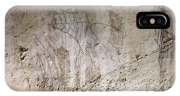 Painting West Wall Tomb Of Ramose T55 - Stock Image - Fine Art Print - Ancient Egypt IPhone Case