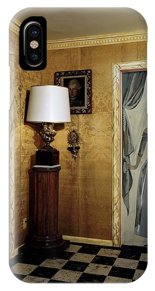 Paintings On The Walls Of Tony Duquette's House IPhone Case