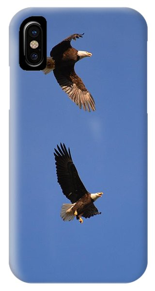 Pairs In Flight And Life IPhone Case